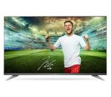 "Телевизор LG 55UH7507, 55"" 4K UltraHD TV, 3840x2160, DVB-T2/C/S2, 1900PMI, Smart, ULTRA Slim, WiDi, WiFi 802.11.ac, Bluetooth, Miracast, DLNA, LAN, CI, HDMI, USB, TV Recording Ready, Narrow Bezel, Adjustable Eiffel Stand ,Metallic/Black"