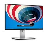 "Монитор Dell U2417HJ, 23.8"" IPS Anti-Glare, UltraSharp InfinityEdge, 8ms, 1000:1, 2000000:1 DCR, 250 cd/m2, FullHD 1920x1080, HDMI, DP, USB 3.0, Wireless Charging Stand, Height Adjustable, Pivot, Swivel, Tilt, Black"
